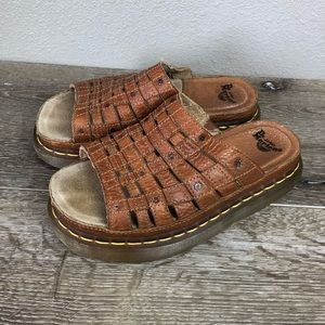 Dr. Martens leather sandals